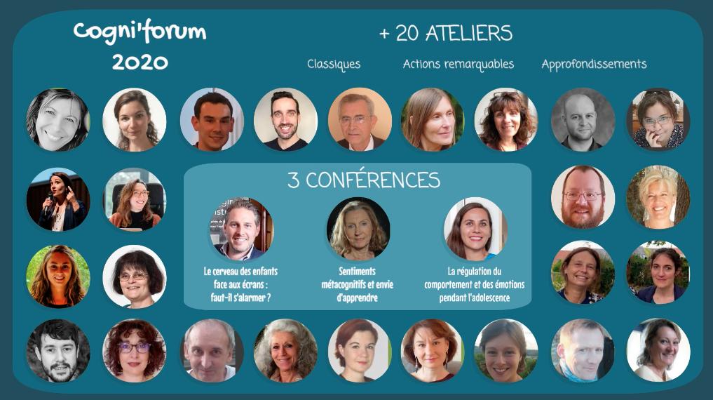 Ouverture du Cogni'forum 2020