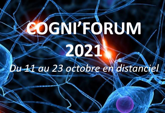 Cogniforum 2021 : ouverture des inscriptions